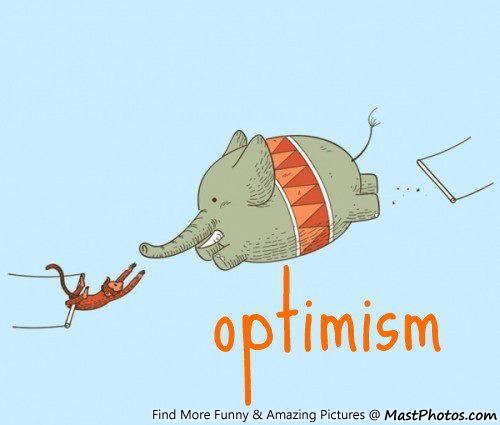 Optimism-Funny-Elephant-And-Monkey