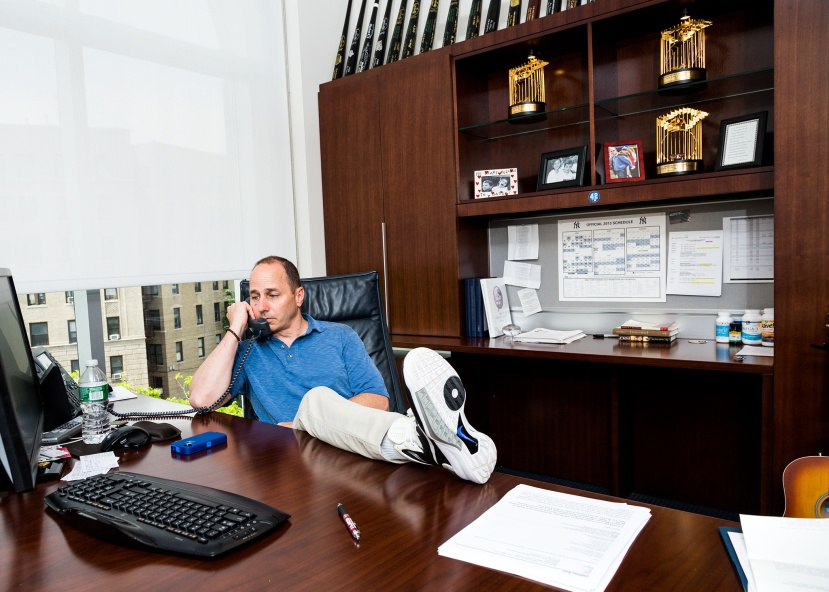 New York Yankees GM Brian Cashman baseball executive
